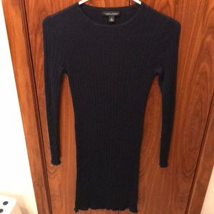 Banana republic merino navy sweater dress